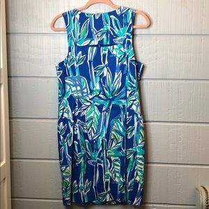 Lilly Pulitzer Dresses - Lily Pulitzer bamboo zip front shift